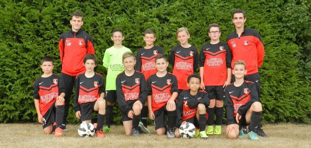 La délégation U13 présente à la Rothon'Cup 2016 :-) !